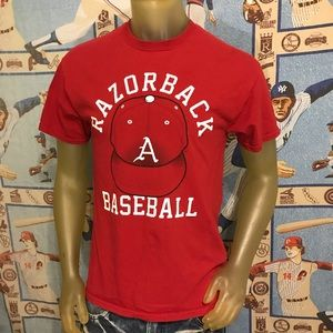 Other - ⚾️ University of Arkansas Razorbacks Baseball Tee